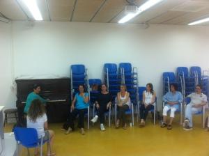 Setembre 2013 Taller de técnica vocal amb Begoña Alberdi