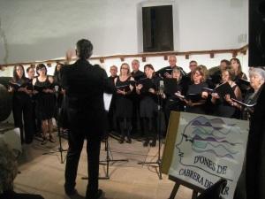 Concert al Sopar Literari organitzat per D'Ones Cabrera de Mar el 08.06.2013