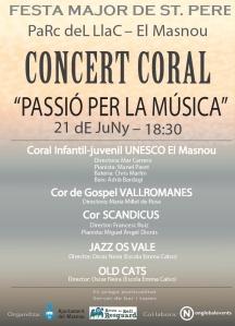 Cartell concert 210615