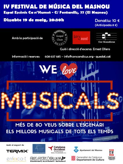 CARTELL MUSICALS